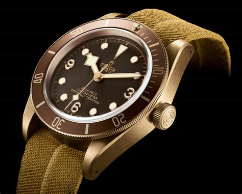 Tudor Black Bay Bronze Zfactory Swiss Eta Ultimate Clone tudor heritage black bay bronze 79250bm with in house movement ablogtowatch