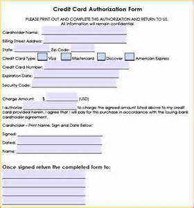Authorization Letter Sample Hotel 6 hotel credit card authorization form authorization letter
