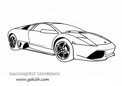 Coloring Lamborghini Lamborghini Coloring Pages To Print Coloring Home