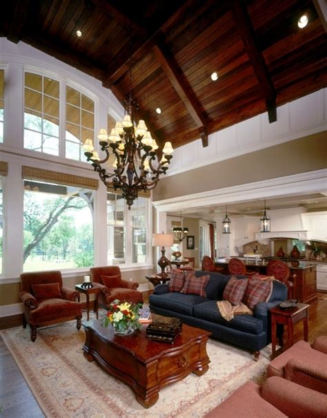 Living Room Lighting High Ceiling Magnificent Benjamin Shaker Beige Convention