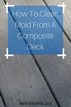 Solution To Clean Deck cleaning composite decks our house decks