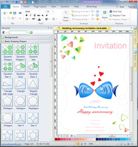 invitation graphic design software invitation card designing cards from free exles and