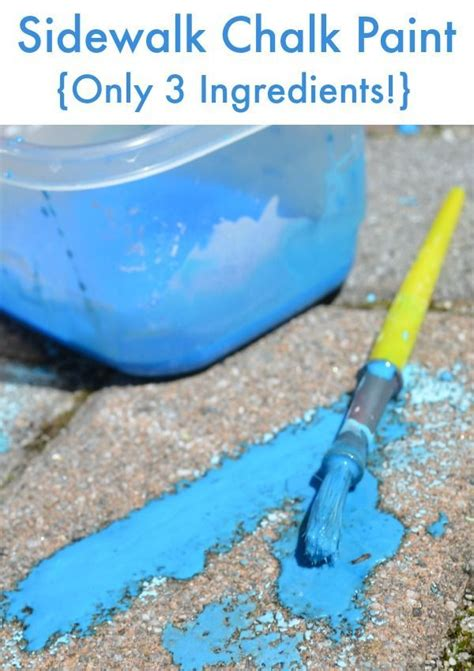 diy chalk paint ingredients 7986 best images about sensory activities for on
