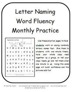 Parent Letter Explaining Dibels 1000 Images About Letter Sound Fluency On Fluency Practice Nonsense Words And