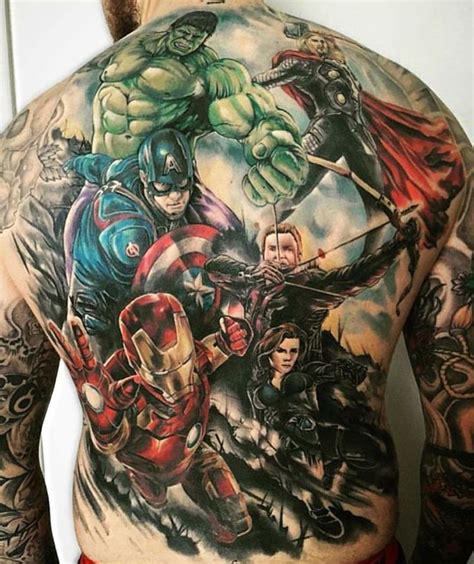 avengers tattoo shoulder www imgkid com the image kid
