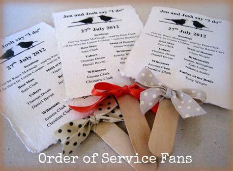 diy church directory diy tutorial order of service fans boho weddings for