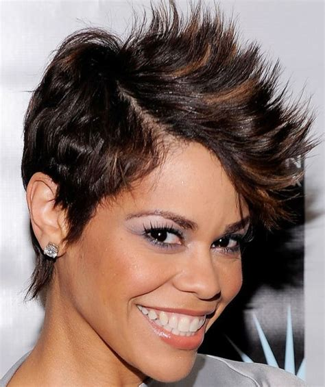 how do you style short spiked ha short haircut styles for black women