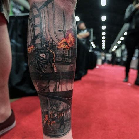 apocalypse tattoo 90 tattoos for masculine walking dead designs