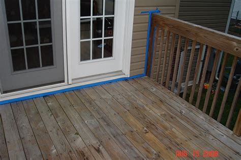 Cabot Decking Stain by Deck Power Washed Primed Stained Rob Ainbinder