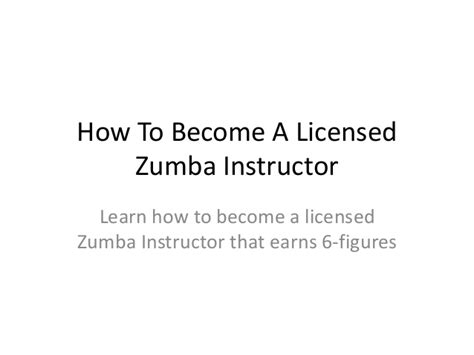 how to become a instructor how to become a licensed instructor