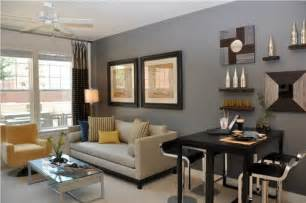 Small Apartment Living Room Design Ideas Grey Wall And Decorative Wall For Small Apartment