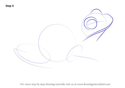 Drawing A Tree Frog Step By Step by Learn How To Draw A Green Tree Frog Hibians Step By