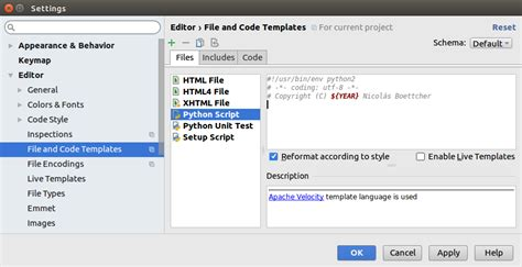 python email template how to write a file code template in pycharm
