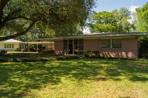 midcentury modern ls mid century modern home for sale in alexandria louisiana
