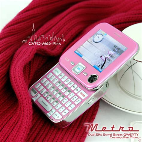pink mobile phone gadgetsthe pink edition metro cell phone