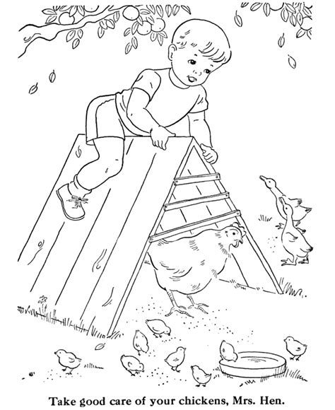 coloring page chicken coop coloring pages chickens az coloring pages