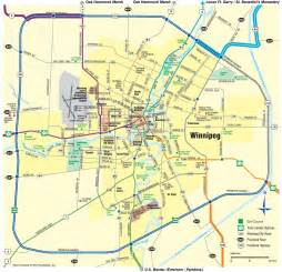 winnipeg manitoba canada map winnipeg area map