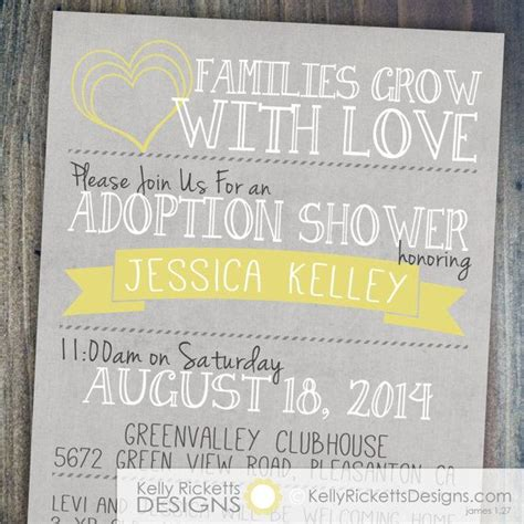 care baby shower invitations best 25 adoption shower ideas on adoption