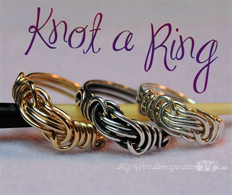 wire wrapping techniques for jewelry diy wire wrap a knot ring jewelry tutorial how to make a