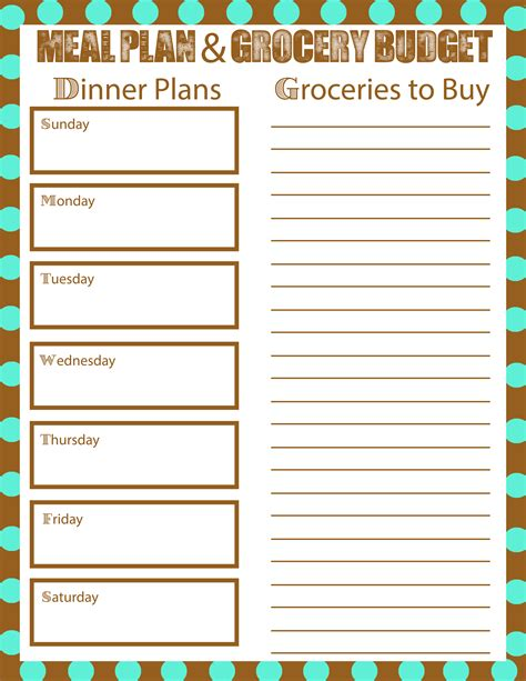 meal planning  bring  grocery budget  mom