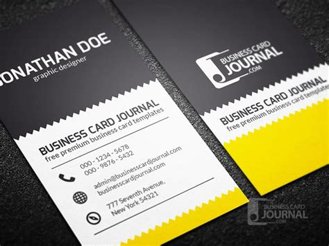 free vertical business card template psd 55 free creative business card templates designmaz