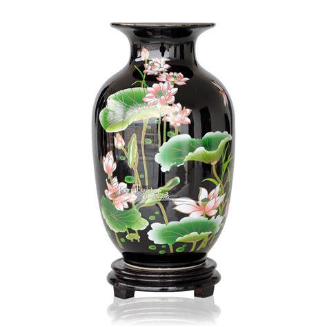 buy wholesale black ceramic vase from china black
