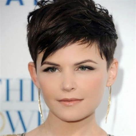 Fat Face Pixie Cut | 25 hairstyles to slim down round faces the o jays