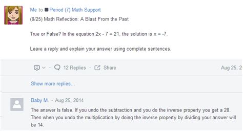 edmodo quiz problems rockstar math teacher ipads and self paced lessons in