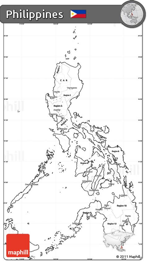 printable map philippines free blank simple map of philippines