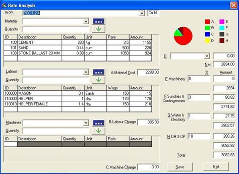free cost to build calculator estimator civil engineering estimation software