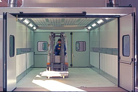 cabina verniciatura realizzazioni impianti di verniciatura 187 produzione ed