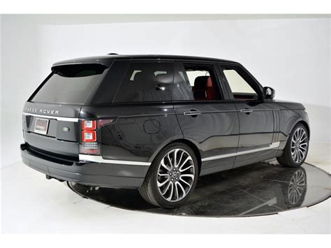 2014 land rover range rover supercharged autobiography for