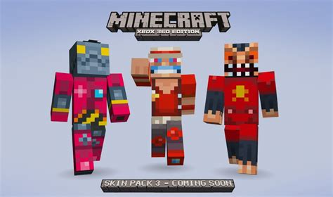 minecraft skins minecraft xbox 360 edition skin pack 3 coming soon 343 industries news 343
