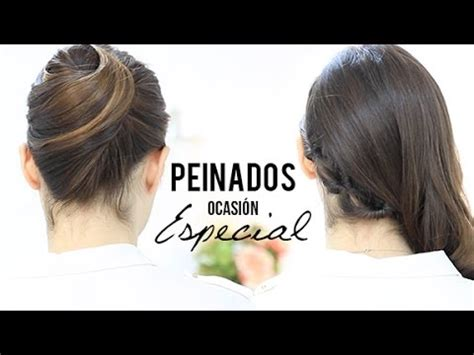hairstyles party jordan peinados para una ocasi 243 n especial youtube