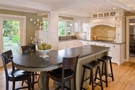 kitchen island instead of table the woodshop of avon traditional kitchen minneapolis by the woodshop of avon