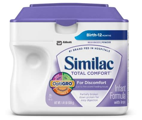 Similac Total Comfort Baby Formula by Similac Total Comfort Protein Powder