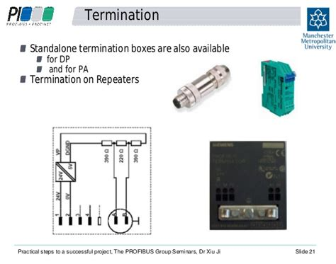 profibus terminating resistor siemens practical steps to a successful profibus project richard needham an