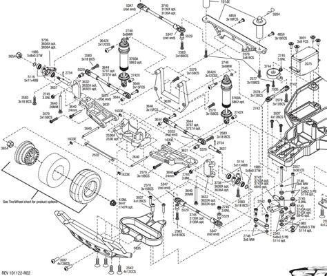 traxxas rustler parts diagram traxxas rustler parts diagram wiring diagram and fuse