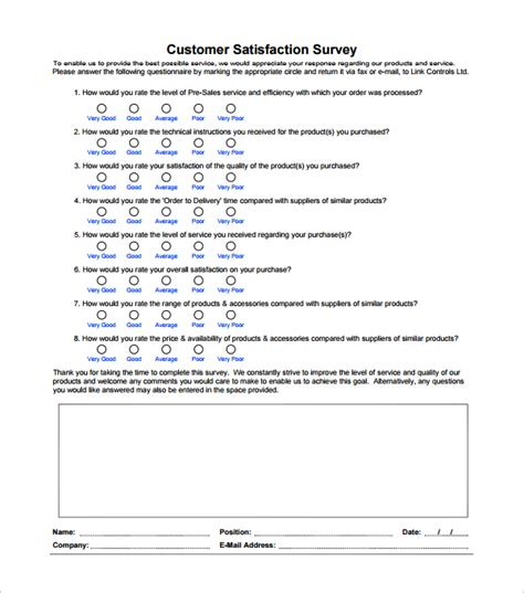 free survey templates customer survey template word surveys template survey