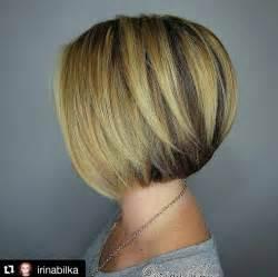 Layered short straight bob hairstyle for short hair jpg
