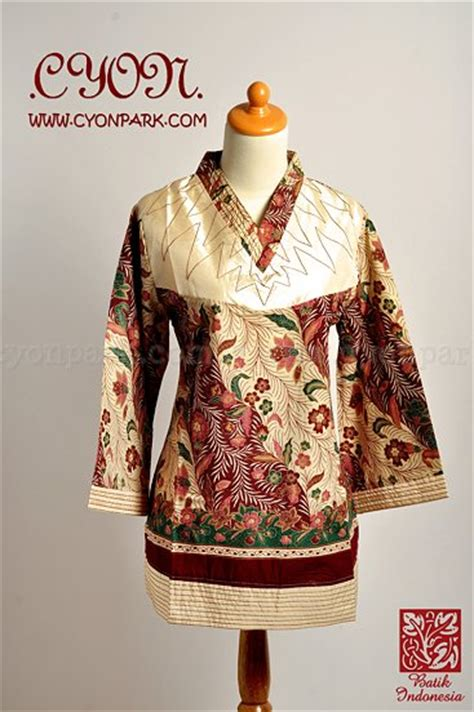 Baju Blouse Batik fashion baju blouse s lace blouses
