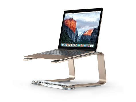 Laptop Stand For Desk Mac Elevator Laptop Stand By Griffin Technology Review 187 The Gadget Flow
