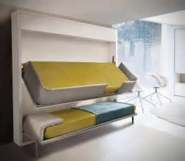 Bunk Bed Designs For Small Rooms Small Spaces Lollisoft Murphy Bunk Beds Hiconsumption