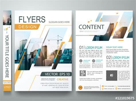 magazine leaflet design abstract square in cover book portfolio presentation