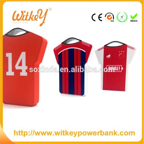 Power Bank Fifan fifa world cup thin soccer clothes universal power bank charger 2800mah battery charger buy