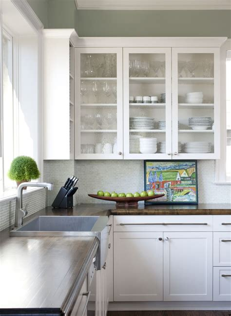 Pin By Leigh Brassard On Kitchen Pinterest Seeded Glass Cabinet Doors