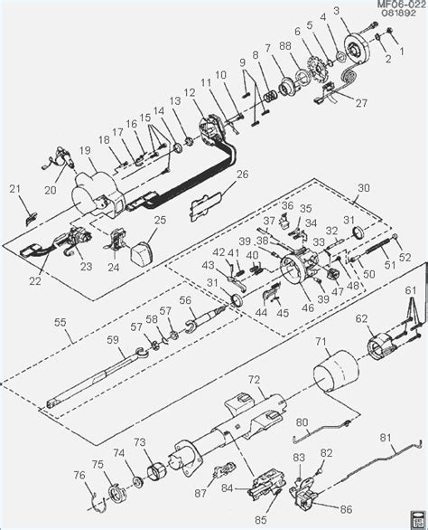chevy truck steering column diagram 1989 chevy steering column diagram wiring diagram with