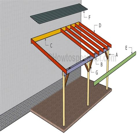 Building An Attached Carport | free carport plans attached to house prestigenoir com