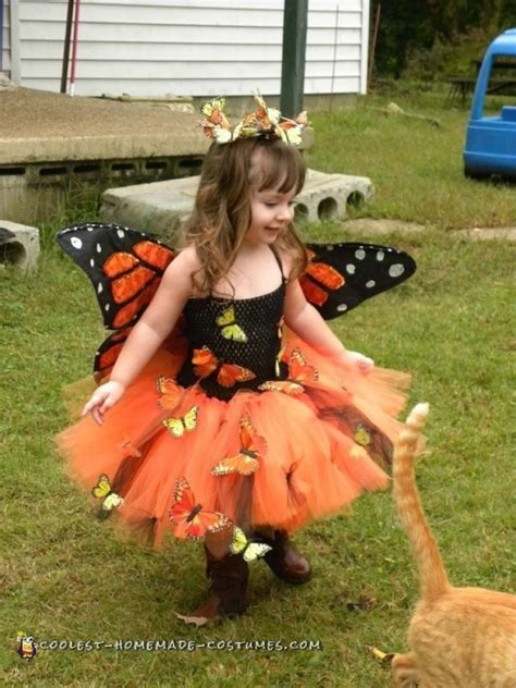Handmade Butterfly Costume - handmade toddler butterfly costume