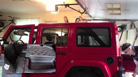 jeep hardtop removal 2012 jeep wrangler review part 3 hard top removal